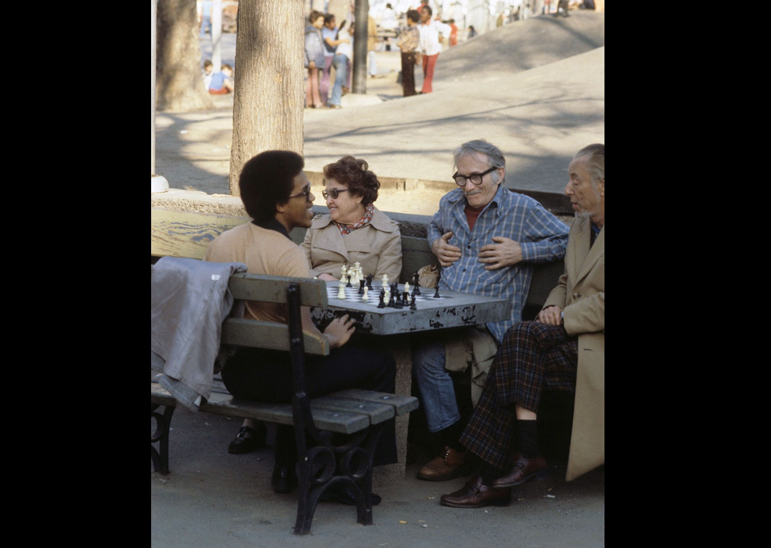 Chess In Washington Square Park 1978