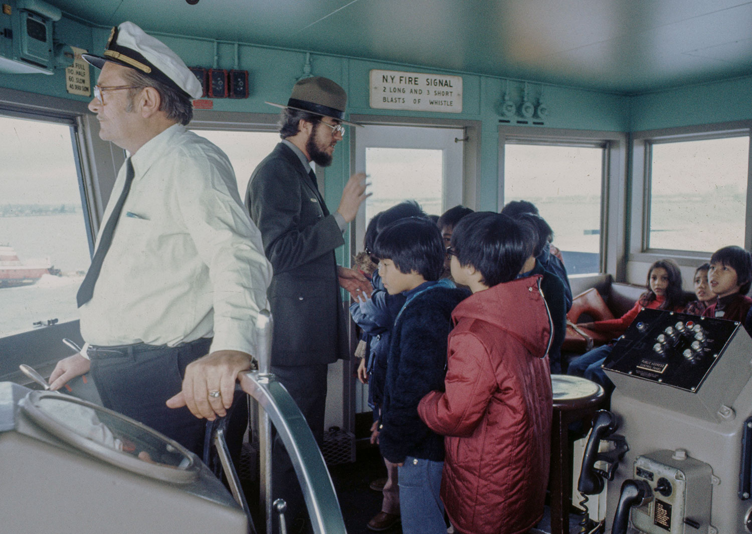 From Chinatown To Staten Island By The Ferry 1977