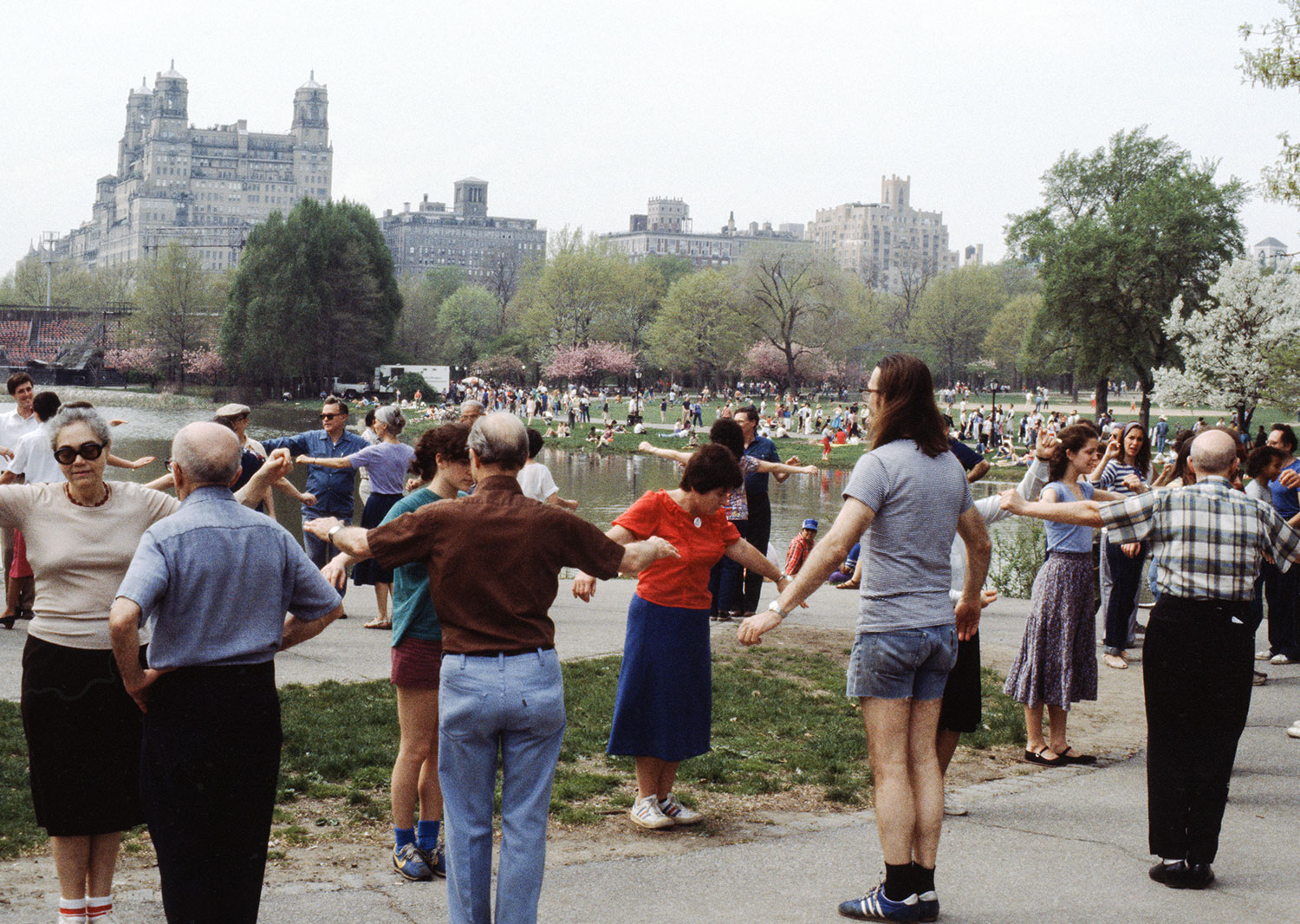 Dancing In Central Park 1978