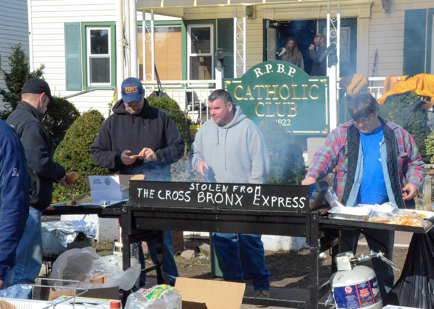 Feeding Volunteers After Superstorm Sandy 2012