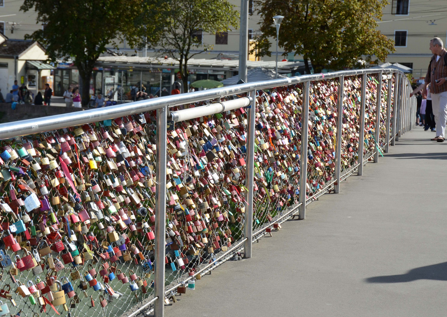Locks On Bridge, Saltzberg 2015