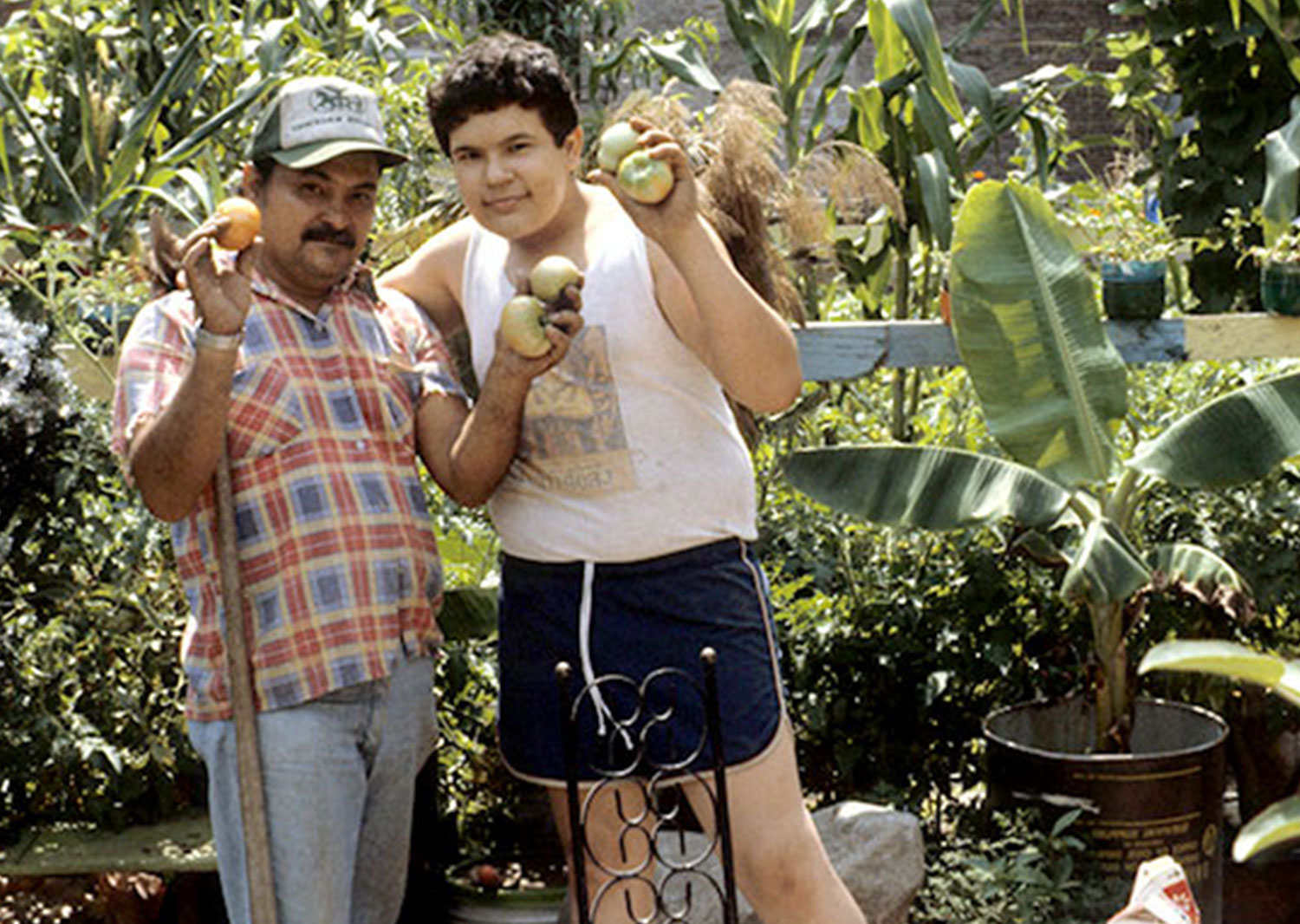 Lower East Side Community Gardeners 1981