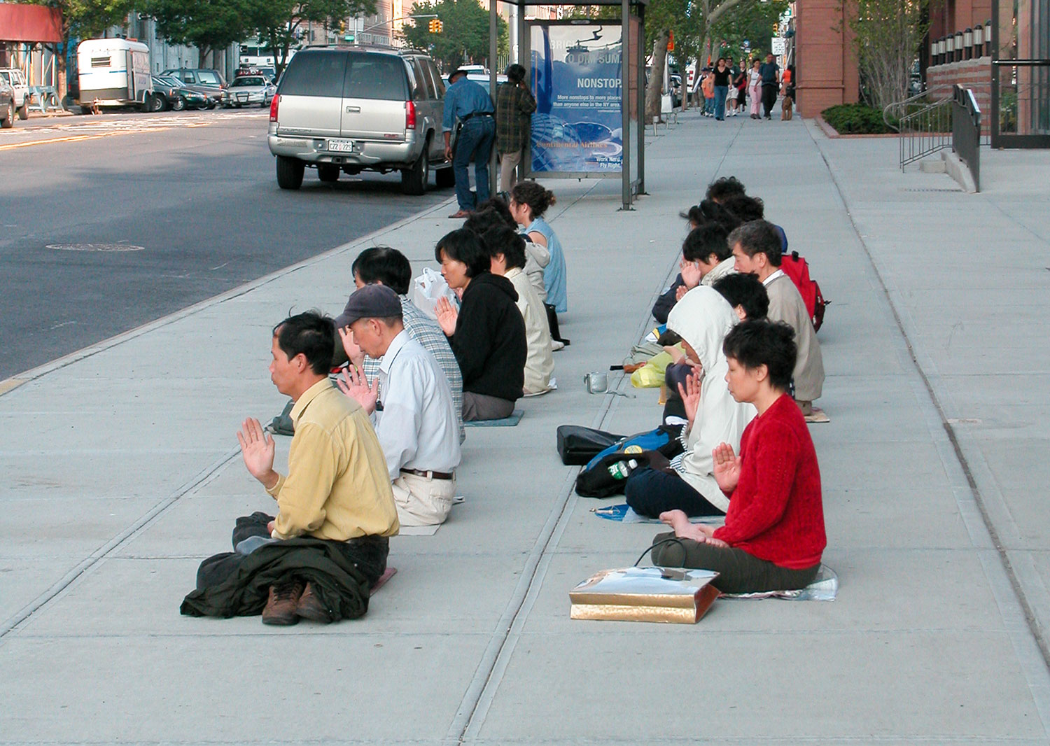 Peaceful Protest At The Chinese Mission 2009