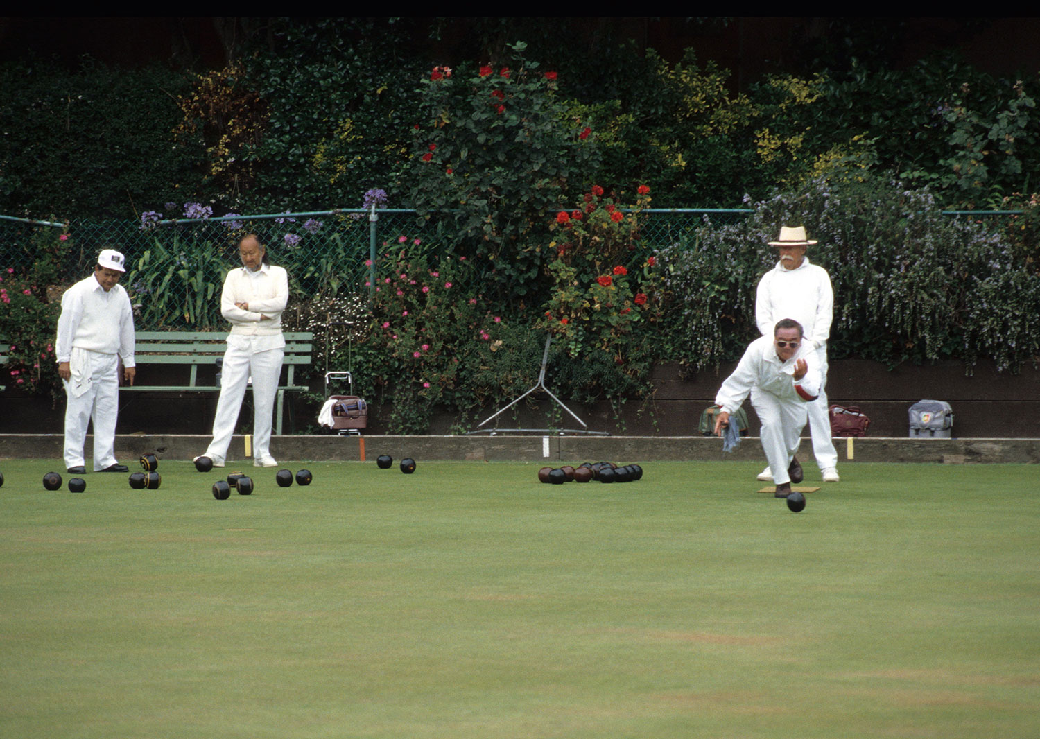 Lawn Bowlers in Golden Gate Park 1999