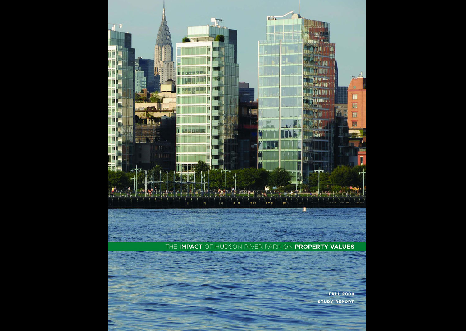 The Impact of Hudson River Park on Property Values 2008