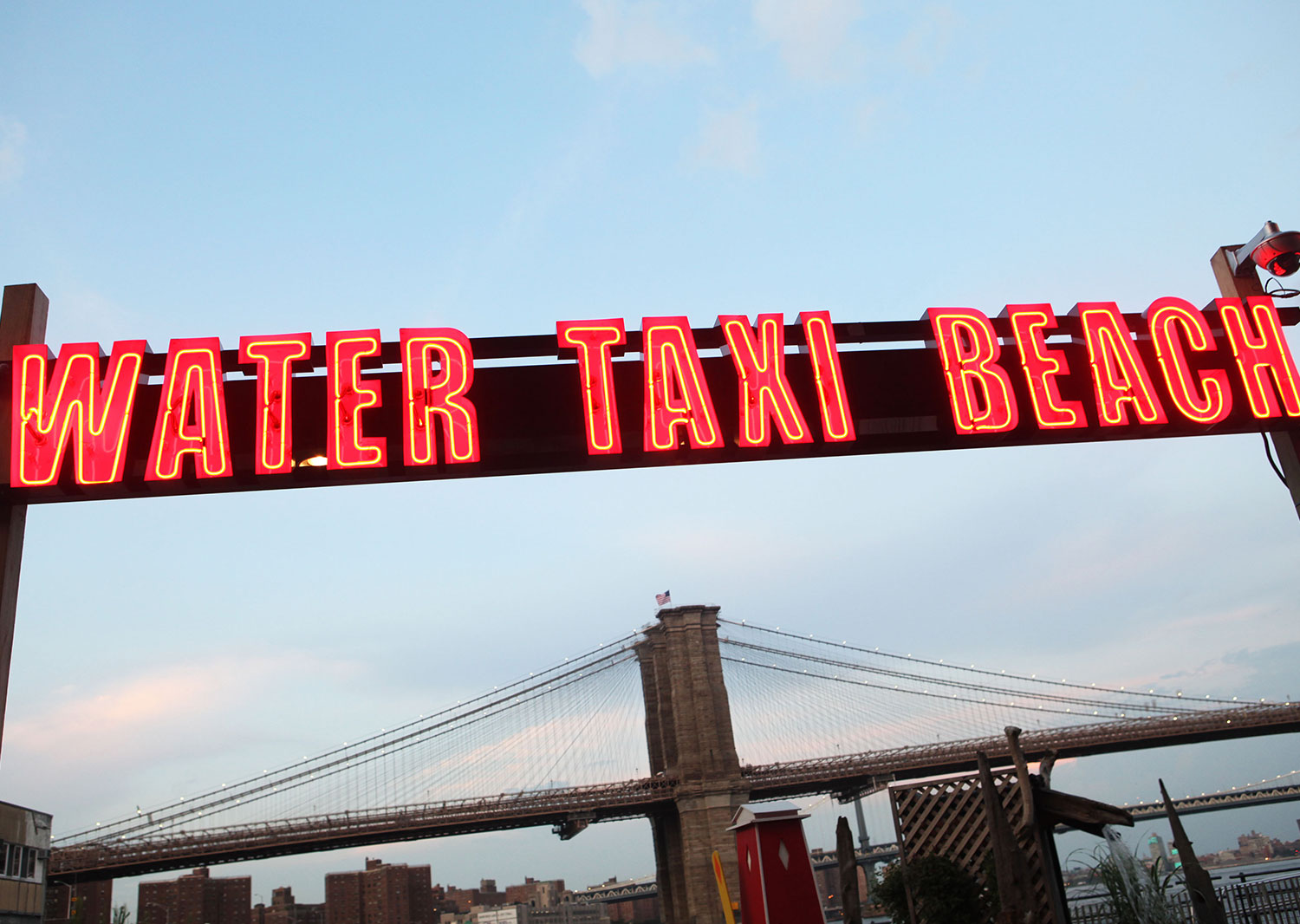 Welcome To Water Taxi Beach South Street Seaport 2008