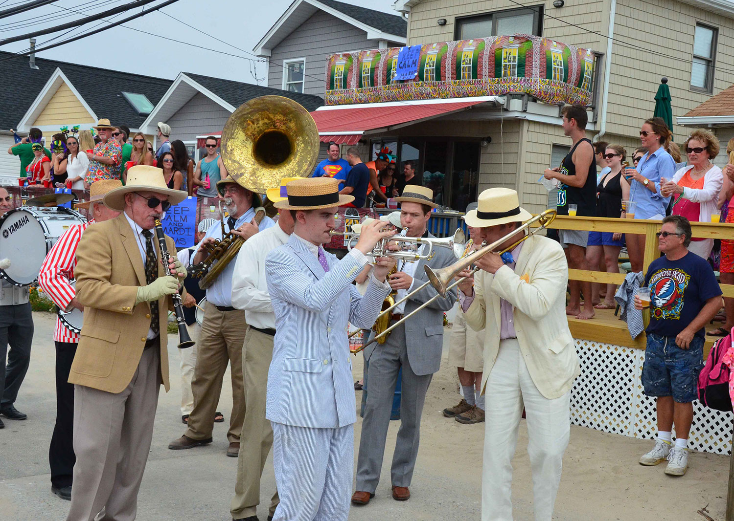 Michael Arenella And The Dreamland Orchestra at Breezy Mardi Gras 2013