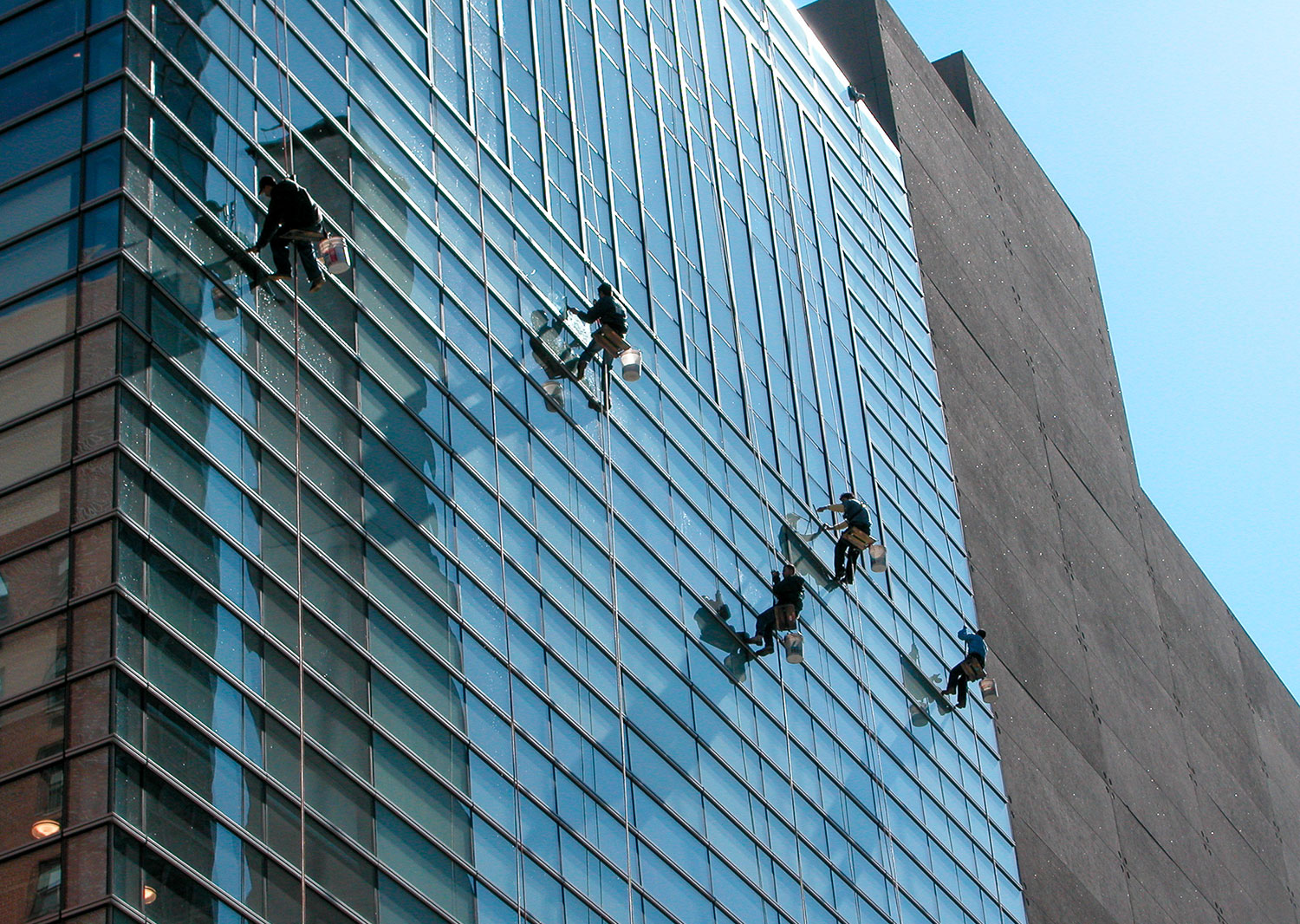 Sotheby's Window Washers 2013